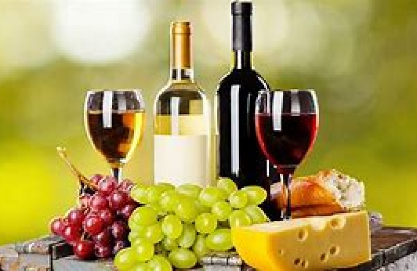 Local Cheese and Wine Event