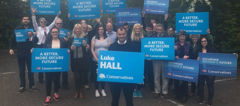 "Luke Hall MP and your local Conservative Team - ""Our Positive Plan for this Constituency"""